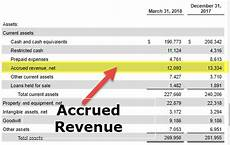 accrued revenue in balance sheet top exles and journal entry