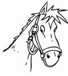 Malvorlagen Pferdekopf Kostenlos Ausmalbild Tiere Pferdekopf Kostenlos Ausdrucken