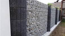 decolith design gabionen steinzaun sichtschutz