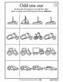Kindergarten Preschool Reading Worksheets Which Vehicle