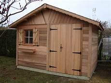 abri de jardin en bois nandy 3 50mx2 50m cedar