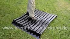 dach abdecken anleitung stabile brennholzabdeckung