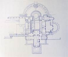 hollyhock house plan frank lloyd wright hollyhock house blueprint by