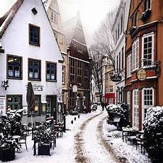 winter in schnoorviertel bremen mostbeautiful