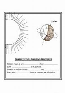 rotation of the earth worksheets 14448 worksheets rotation of earth