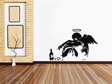 home decor wall decals banksy drunken decal wall sticker home decor