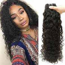 8a water wave hair 4pcs lot natural curly sew in human hair weave sale