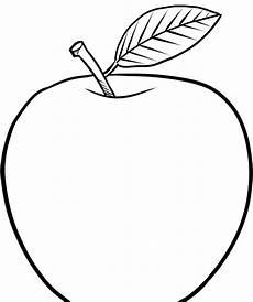 Malvorlage Apfel Zum Ausdrucken Ausmalbilder Apfel Vordruck Apfel Schablonen Zum