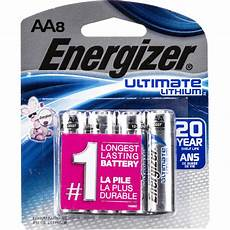 energizer ultimate lithium aa batteries 57 eulaa8d b h photo