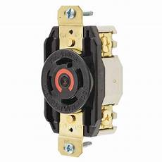 Hubbell Wiring Hbl2730 Flush Mount Single Receptacle 30