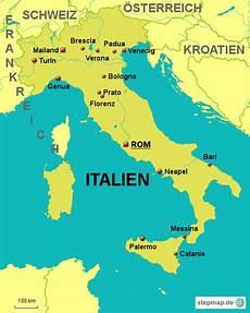 St 228 Dte Italien Karte Kleve Landkarte
