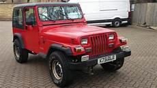 free car repair manuals 1993 jeep wrangler electronic valve timing 1993 jeep wrangler yj 2 5 4x4 93 k reg red hard soft sold car and classic