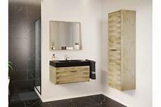 meuble de salle de bain en bois massif avec plan b 233 ton