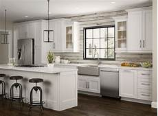 newport oven cabinets in pacific white kitchen the home depot