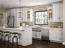Newport Oven Cabinets in Pacific White ? Kitchen ? The