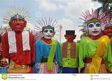 Ondel Ondel Stock Photo Image Of Betawi Jakarta Puppets