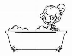 disegno bagno disegno di per fare il bagno da colorare acolore