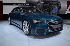 2018 Geneva Motor Show Live Photos Of The New Audi A6