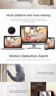 Bakeey Wireless Wifi Infrared Vision by Bakeey Wifi 1080p Hd P2p Vision Home Monitor