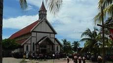 Gereja Tua Sikka Perpaduan Budaya Lokal Dan Eropa