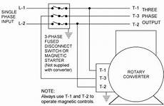 phase converter wiring diagram rotary phase converters by phase a matic