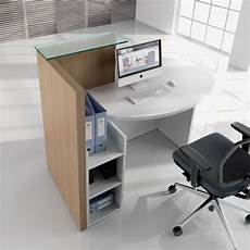 lada wood portatile loop compact reception desk hshire office furniture
