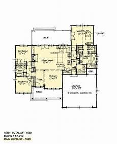 donald gardner craftsman house plans modest one story craftsman home plan don gardner