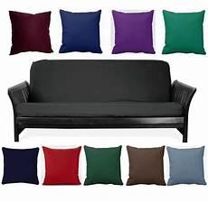 futon pillows black size futon cover choose favorite color of