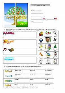 seasons dates ordinal numbers worksheet free esl printable worksheets made by teachers 4