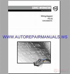 volvo fe 3 trucks wiring diagram service manual auto repair manual heavy equipment