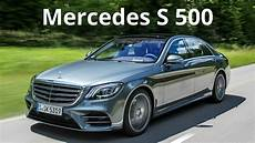 2018 Mercedes S 500 Sporty Design Combined With