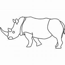Bilder Zum Ausmalen Nashorn Kostenlose Malvorlage Tiere Ausmalbild Nashorn Zum Ausmalen