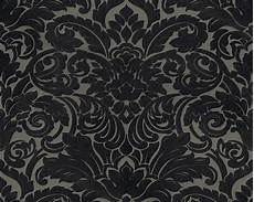 Flock Tapete Barock Taupe Schwarz Architects Paper 33583 6