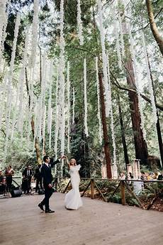 Modern Redwood Forest Wedding At The Island Farm San Gregorio Justine And Keith