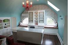 3rd floor attic craft room style home office