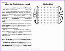the beloved disciple puzzle kids korner biblewise