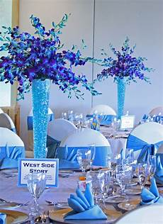 turquoise blue purple together wedding decorations wedding table decorations