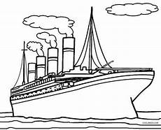 kleurplaten titanic kleurplaat
