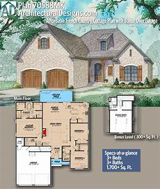 affordable house plan with over 1700 living sq plan 70588mk affordable french country cottage plan with