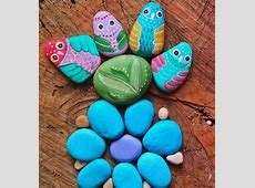 40  Cute DIY Rock Painting Ideas That You Should Make With