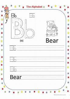 letter worksheets 23115 the alphabet letter b worksheet free esl printable worksheets made by teachers