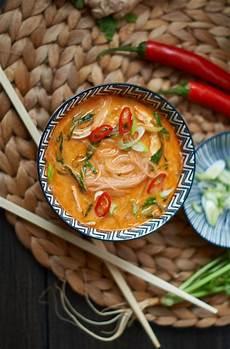 pak choi rezept thai rote thai curry suppe mit h 228 hnchen und pak choi rezept
