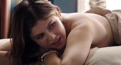 Alexandra Daddario Topless