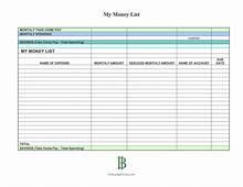 Savings Account Spreadsheet Downloa