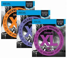 D Addario Exl Bt Balanced Tension Nickel Wound Guitar Strings