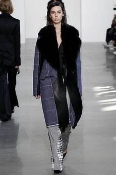 Calvin Klein Collection New York Fashion Week Herbst