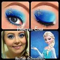 frozen elsa makeup look glittergirlc