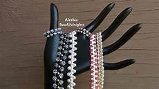 Zigzag Beaded Bracelet Anklet And Ring Tutorial
