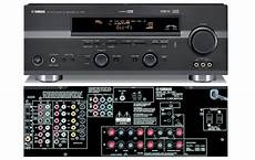 yamaha rx v557 6 1 channel home theater receiver review
