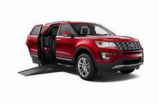 2016 Ford Explorer Base Of Wheelchair Accessible Suv